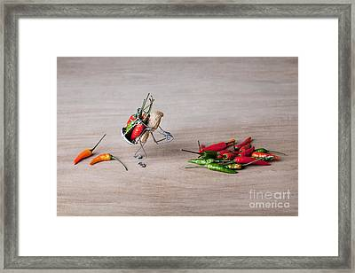 Hot Delivery 02 Framed Print by Nailia Schwarz
