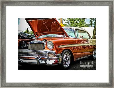 Hot Rod Framed Print by Tamera James