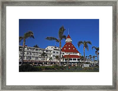 Hotel Del Coronado  Framed Print by Jonathan Whichard