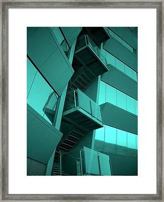 Hotel W - Barcelona Framed Print by Juergen Weiss