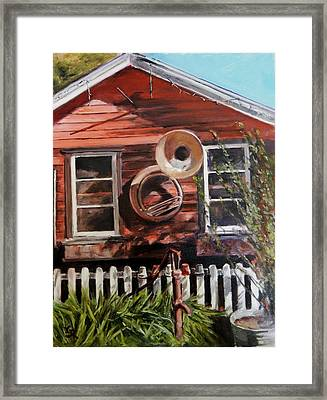 House Music Framed Print by George Kramer