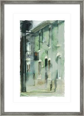 House On Barton Street Framed Print by Bob Salo