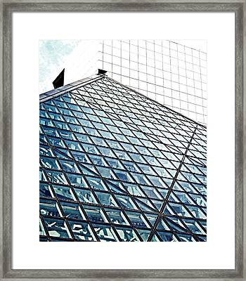 House That Rock Built Framed Print by Andrea Dale