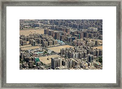 Housing Expansions Framed Print by Magalie L'Abbé