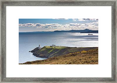Howth And Dublin Bay Framed Print by Semmick Photo