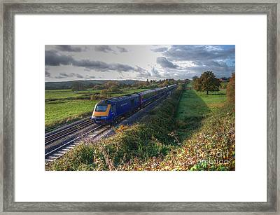 Hst At Rewe Framed Print by Rob Hawkins