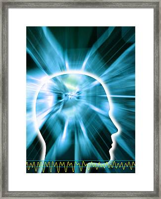 Human Consciousness Framed Print by Pasieka