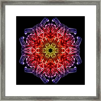Humandala 2 Framed Print by David Kleinsasser