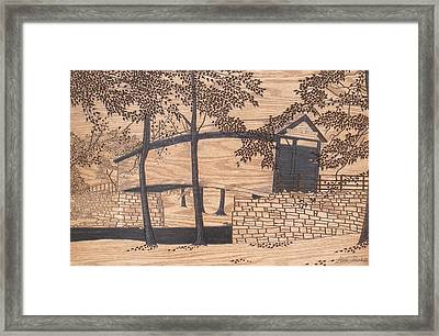 Humpback Covered Bridge Framed Print by Stan Shirk