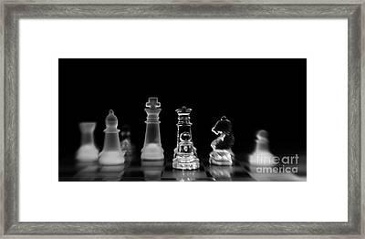 Hunt For The King Framed Print by Priska Wettstein