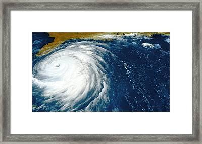 Hurricane Floyd Framed Print by Nasagoddard Space Flight Center