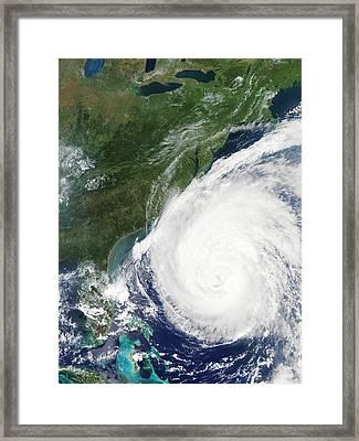 Hurricane Isabel, 17th September 2003 Framed Print by Nasa