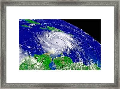 Hurricane Framed Print by Padre Art