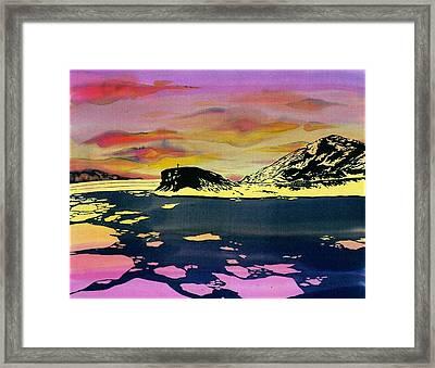 Hut Point Antarctica Framed Print by Carolyn Doe