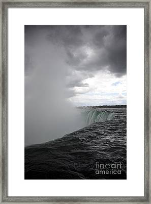 Hydro Framed Print by Amanda Barcon