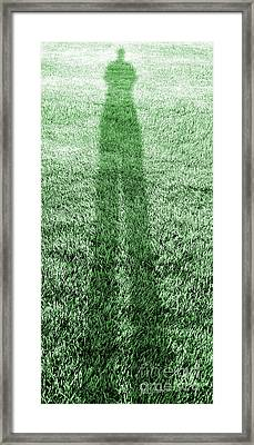 i Alone Framed Print by Luke Moore
