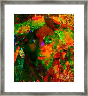 I Am Who I Am Framed Print by Fania Simon