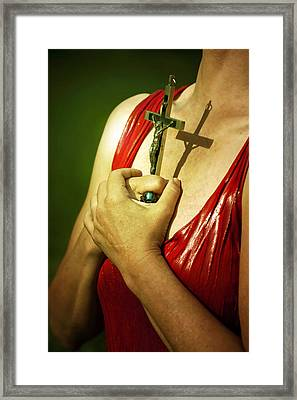 I Believe Framed Print by Joana Kruse