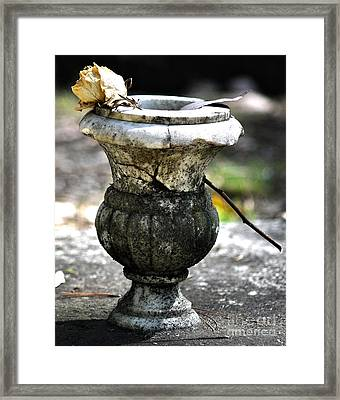 I Cared Enough Framed Print by Joanne Kocwin