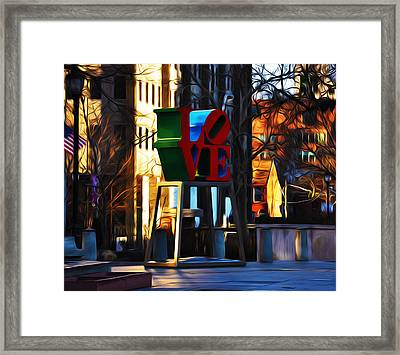 I Did It For Love Framed Print by Bill Cannon