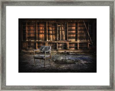I Don't Want Your Yesterdays Framed Print by Evelina Kremsdorf