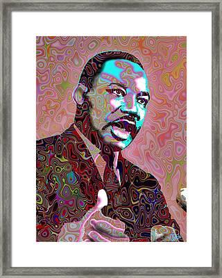 I Have A Dream Framed Print by Harold Egbune
