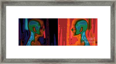 I Love You Framed Print by Stelios Kleanthous
