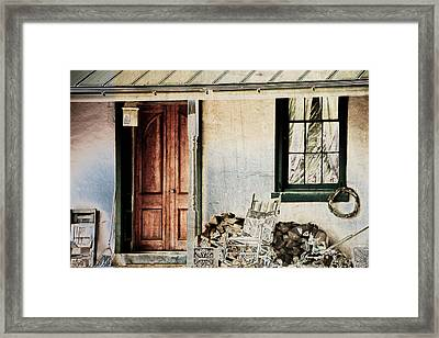 I Miss Mayberry Framed Print by Trish Tritz