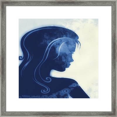 I Walked Away 3 Framed Print by Angelina Vick