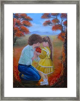 I Wish Framed Print by Fineartist Ellen