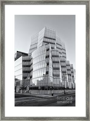 Iac Building Vi Framed Print by Clarence Holmes