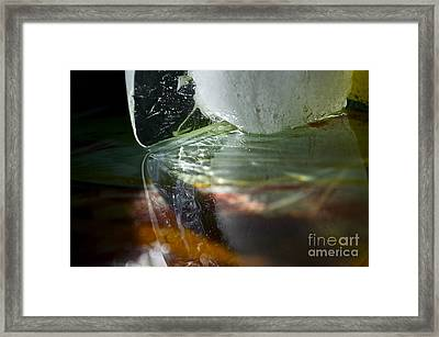 Ice Obsession Two Framed Print by Gwyn Newcombe