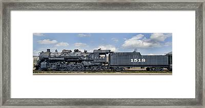 Icrr Steam Engine 1518 Framed Print by Jim Pearson