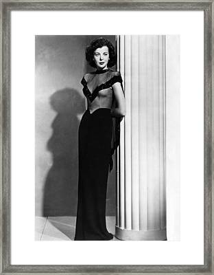 Ida Lupino, 1945 Framed Print by Everett