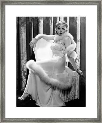 Ida Lupino, Paramount Pictures Framed Print by Everett