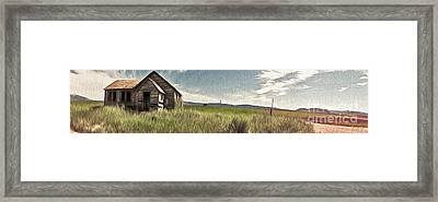 Idaho Panorama Framed Print by Gregory Dyer