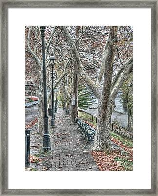 Ides Of March Movie Locale - 4 Framed Print by David Bearden