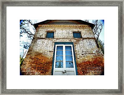 If Bricks Could Talk Framed Print by Cheryl Young