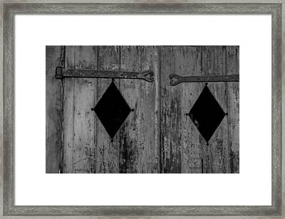 If I Could Talk Framed Print by Christopher McPhail