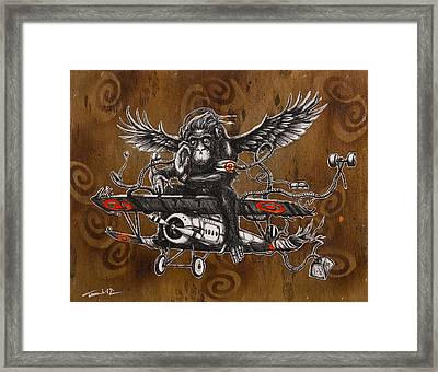 If You Want To Fly Let Go Of The Things Weighing You Down Framed Print by Tai Taeoalii