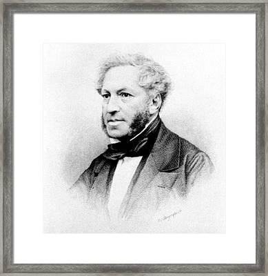 Ignaz Moscheles (1794-1870) Framed Print by Granger