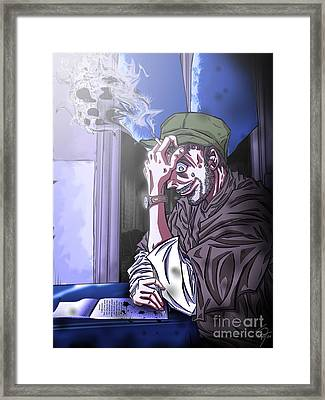 Il Malinconico Framed Print by Tuan HollaBack