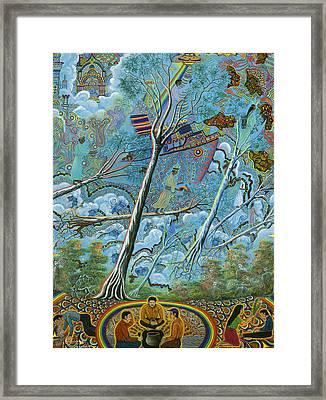 Ila  Framed Print by Pablo Amaringo