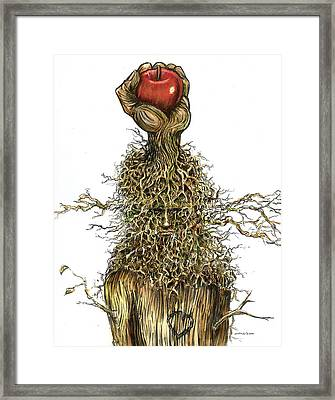 I'm Not Finished... I Have So Much More To Give. Framed Print by Michael Scholl