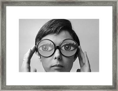 I'm Watching You Framed Print by Keystone