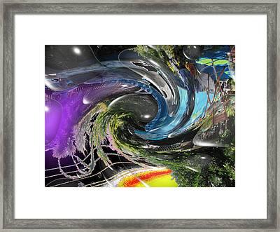 Imagination 2 Framed Print by HollyWood Creation By linda zanini