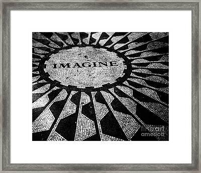 Imagine Framed Print by Ken Marsh