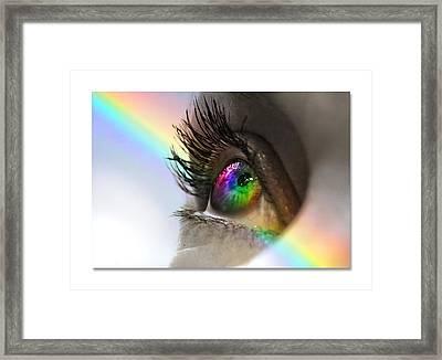 Imagine Framed Print by Mal Bray
