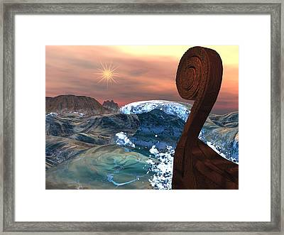 Imram Framed Print by Diana Morningstar