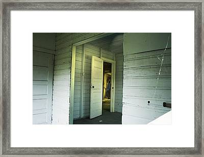 In A Cottage Framed Print by Janet Kearns